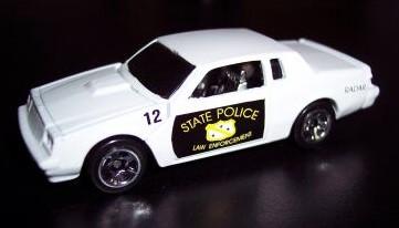 custom cop car