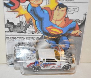 custom made superman hotwheels buick