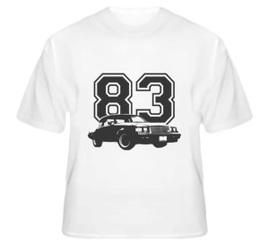 custom year buick grand national shirt