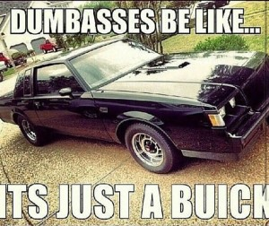 just a buick