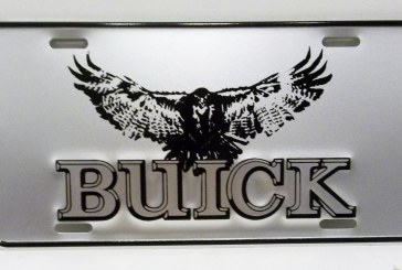 Front License Plates: Buick Style
