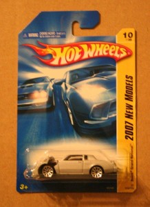 silver hotwheels buick packaged backwards error