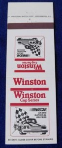 winston cup series matchbook