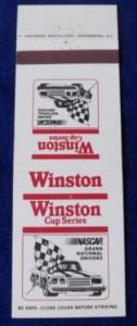 winston cup series matchbook