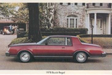 Buick Regal Postcards
