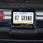 87 grand plate