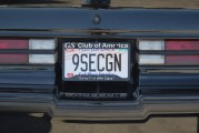 Buick Vanity Plates at the GS Nats!