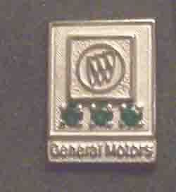 BUICK 20 YEAR SERVICE AWARD PIN