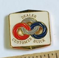 Buick Dealer Customer Service Pin
