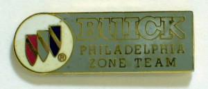 Buick Philadelphia Zone Team pin