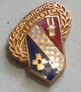 Buick Sales Master Employee pin