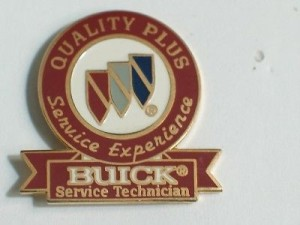Buick Service Technician pin