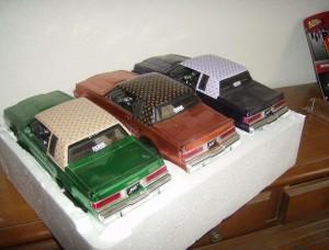 Jada Donk box and bubble Buick Grand National three car set 1