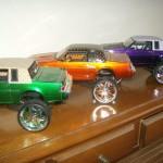 Jada Donk box and bubble Buick Grand National three car set 6