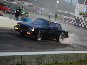 buick grand national burnout at gs nats