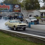 buick gs burnout