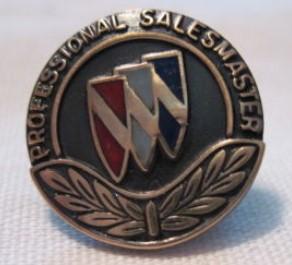 buick professional salesmaster lapel pin