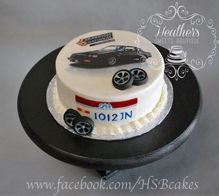 buick regal grand national birthday cake
