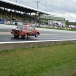 buick wheels up racing