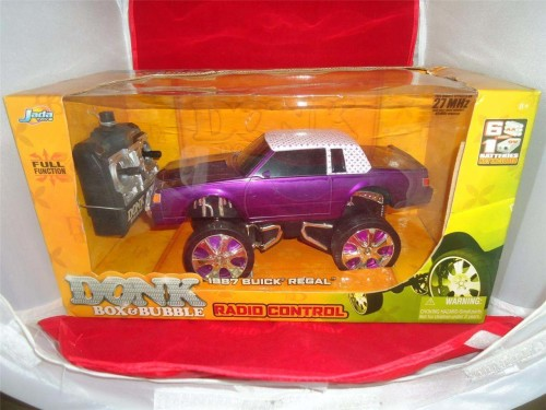 donk box bubble remote control purple