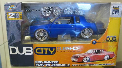dub city dubshop blue buick regal