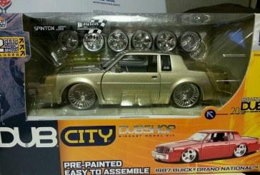 Dub City DubShop Gold & Blue Cars