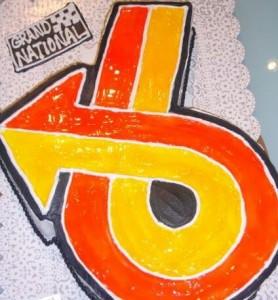 grand national turbo 6 cake