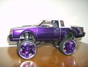 jada purple buick regal donk