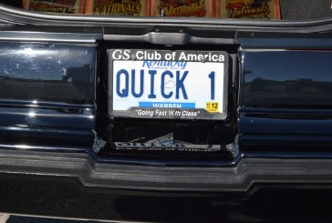 License Plates at Buick GS Nationals