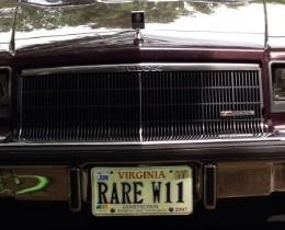 rare buick w11
