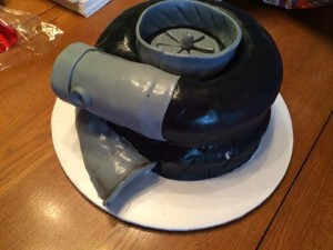 turbocharger cake