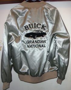 1987 buick grand national satin jacket 1
