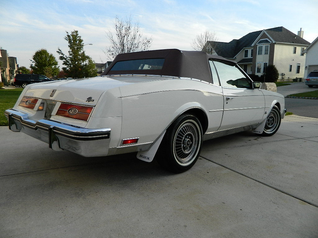 1984 V6 Turbocharged Buick Riviera T Type