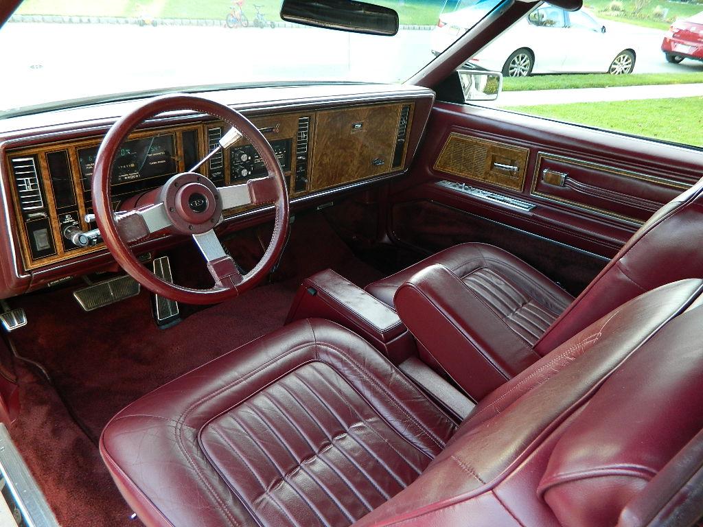 1984 V6 Turbocharged Buick Riviera T-Type
