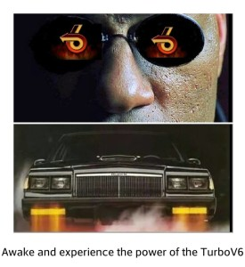 THE POWER OF A TURBO V6