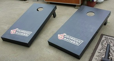 buick grand national bean bag toss game