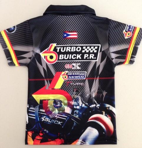PR buick shirt back