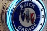 Neon Buick Clock