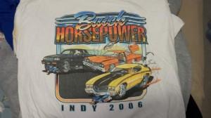 buick horsepower 2006 indy shirt