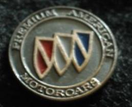 buick premium american motorcars pin