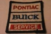 Buick Service Uniform Patch