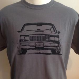turbo v6 car shirt