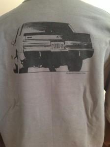turbo v6 car sweatshirt