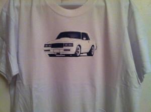 white buick turbo t shirt