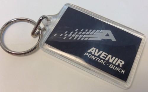 Avenir Buick keychain