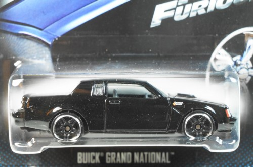 HOT WHEELS 2015 FAST & FURIOUS #06 BUICK GRAND NATIONAL 2