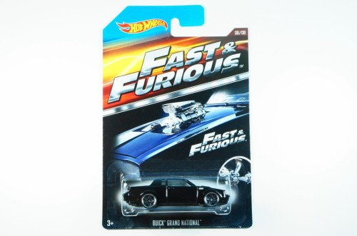HOT WHEELS 2015 FAST & FURIOUS #06 BUICK GRAND NATIONAL 4