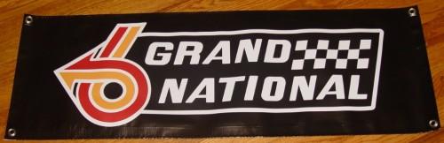 black gn banner