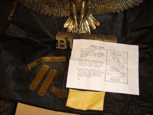 buick hawk sign 29x11x6 4