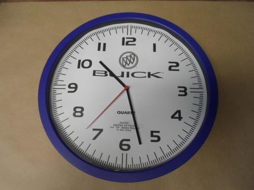 buick logo clock